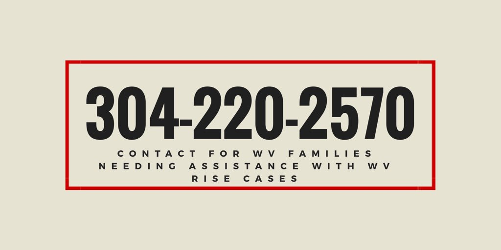 WV RISE needs to hear from YOU!
